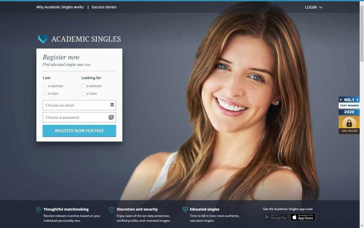 Test winner: Academic Singles - Casual Dating