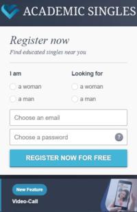 AcademicSingles - Register