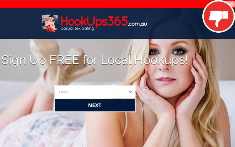 Review HookUps365.com.au scam